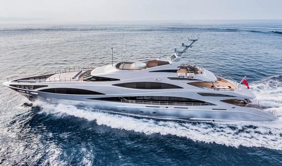 элитные мега яхты
